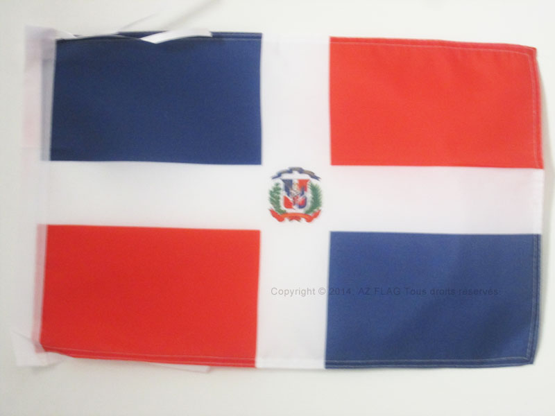 Dominikanische Republik Banner dominikanische Fahnen Flaggen 30x45cm