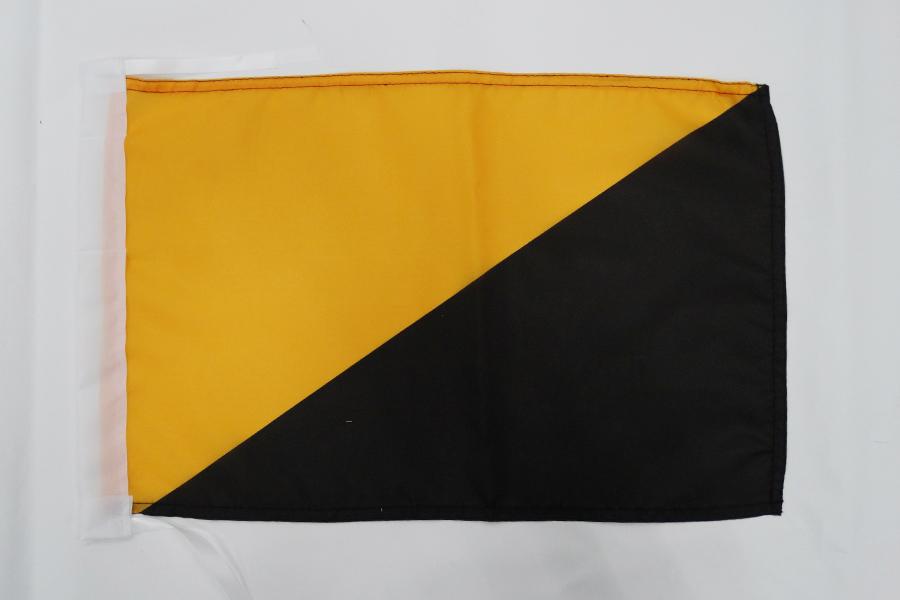 AZ FLAG Bandera de ESPA/ÑA DE Franco 1945-1977 45x30cm BANDERINA FRANQUISTA ESPA/ÑOLA 30 x 45 cm cordeles