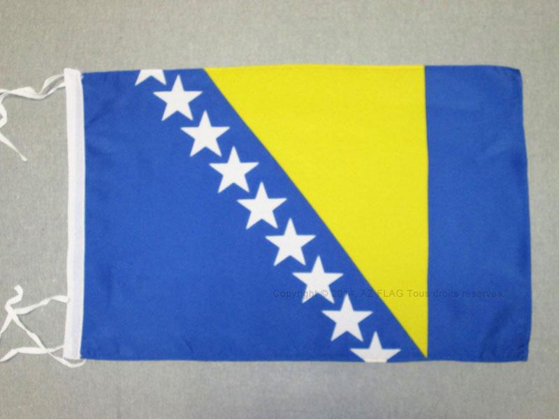 Bosnien-Herzegowina Banner bosnische Fahnen Flaggen 30x45cm