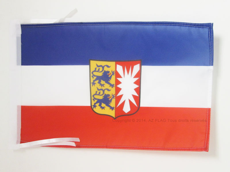 Holstein Flagge 150x90 cm wetterfest Fahne Ösen Hissflagge Ritter Drache Heide