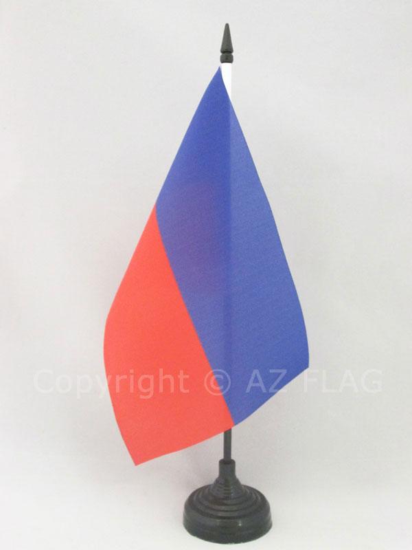 AZ FLAG Bandiera da Tavolo Haiti 21x14cm Piccola BANDIERINA HAITIANA 14 x 21 cm