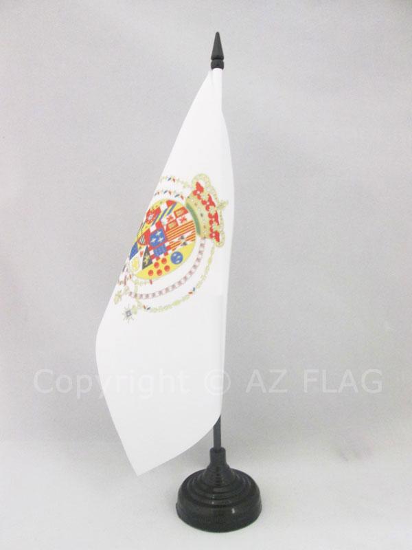AZ FLAG Bandiera da Tavolo Sicilia 21x14cm Piccola BANDIERINA SICILIANA Italia 14 x 21 cm
