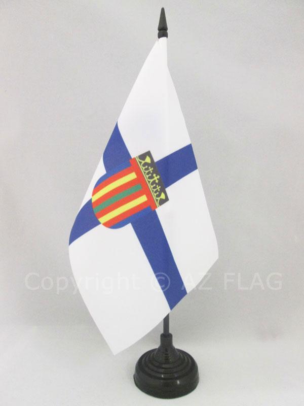 KUBANISCHE TISCHFAHNE 14 x 21 cm TISCHFLAGGE KUBA 21x14cm flaggen AZ FLAG