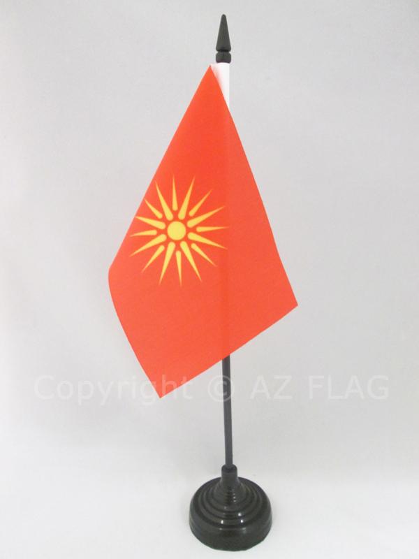 """4/""""x6/"""" Kiribati Stick Flag Table Staff Desk Table"""